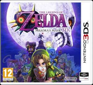 The Legend of Zelda: Majora's Mask 3D für 39,19€ (inkl. Versand) bei amazon.es