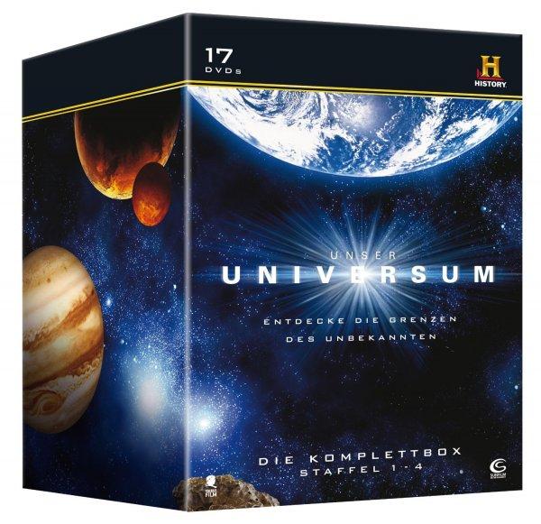 Unser Universum - Die Komplettbox, Staffel 1-4 (History) [17 DVDs oder Blu-Ray] für 24,97€ bei amazon.de [Prime]
