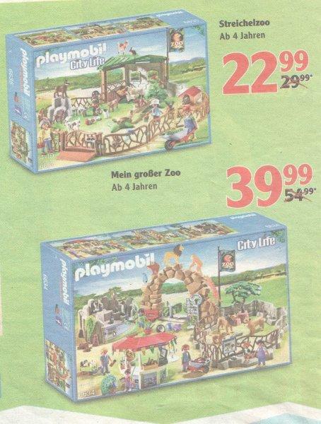 [Lokal] GLOBUS - Playmobil Mein großer Zoo 6634