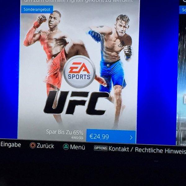 UFC für PS4 im PS Store