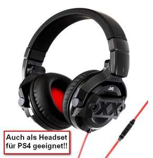 Amazon.fr - JVC HA-MR77X-E XX (Headset PS4) Over-Ear-Kopfhörer DJ-Monitoring mit Mikrofon und Fernbedienung 30,64 €