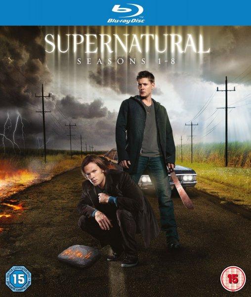 Supernatural - Season 1-8 Complete [Blu-ray] ( O-Ton ) inkl. Vsk für ~ 48 €
