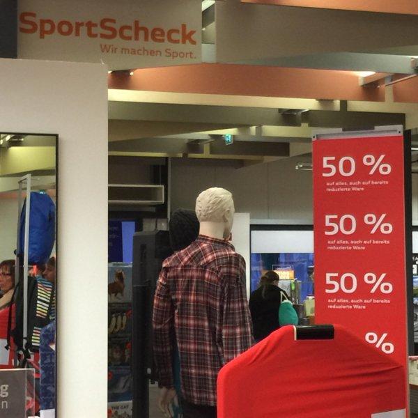 [Lokal] Mönchengladbach Sportscheck 50% auf alles