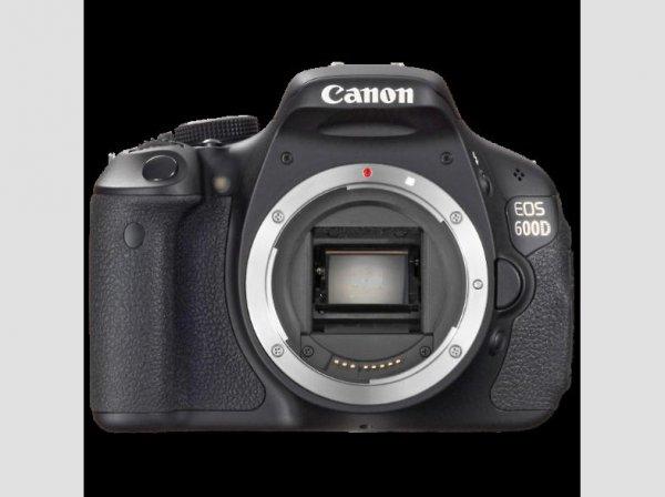 Canon EOS 600 D Body für 359,-