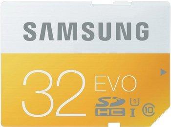 SAMSUNG 32 GB SDHC Speicherkarte Class 10 EVO MB-SP32D -> 10€