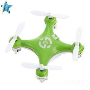 Cheerson CX-10 Flugzeug Super Mini 6 Axis 360° Flip RC Quadcopter grün
