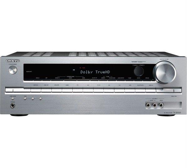 Onkyo TX-SR333 Heimkinoreceiver (5.1 Kanal, 100 Watt/Kanal, UltraHD/4K, 3D, Bluetooth, USB) silber inkl. für 184,85 € > [zack-zack.de]