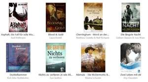 Acht kostenlose eBooks (iBook, Kindle, Thalia, Kobo, Google Play, Bücher.de,  ...)