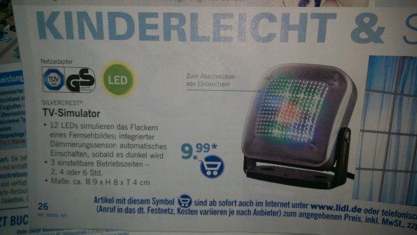 LED Fernsehlicht bei Lidl ab 19.01