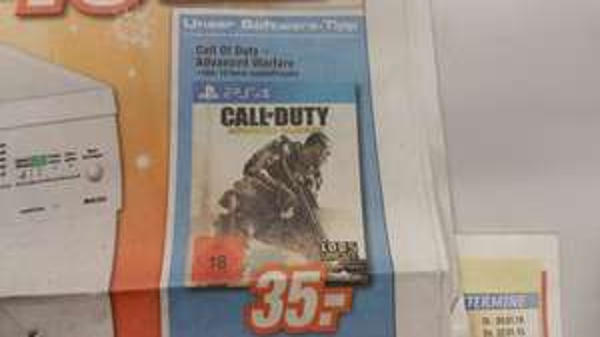 Call of Duty Advanced Warefare für PS4 bei Expert Cottbus.... *eventuell Bundesweit*