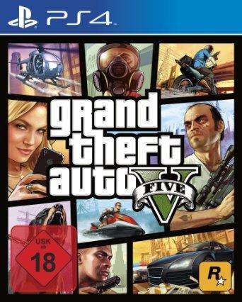 GTA V (PS 4) für 44,99 € (+ 5€ Versand) @amazon.de