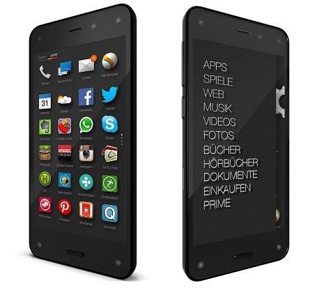 Amazon Fire Phone - ohne Vertrag - 199€ - Neuware von Amazon (50% Ersparnis, zuvor 399€)