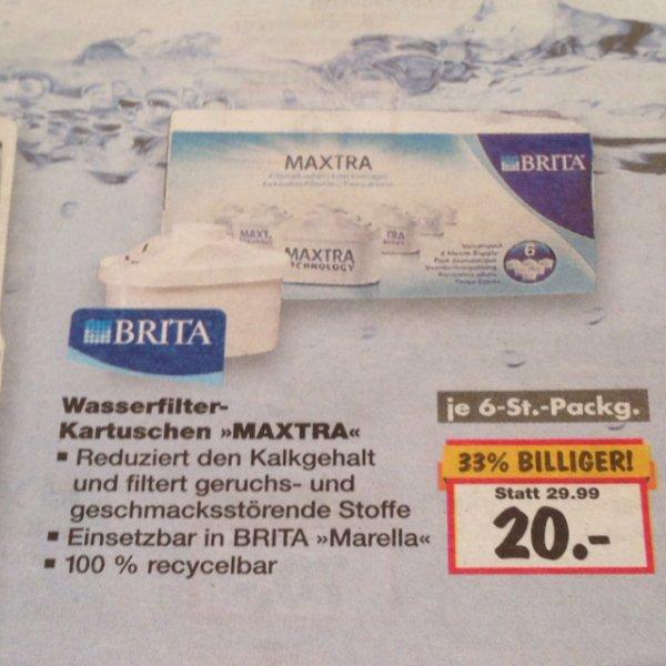 Wasserfilter Kartuschen MAXTRA 6 Stück