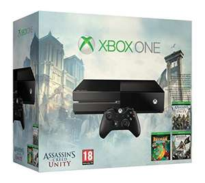 Update Xbox One - Konsole + Assassin's Creed: Unity + Assassin ?s Creed IV: Black Flag + Rayman Legends