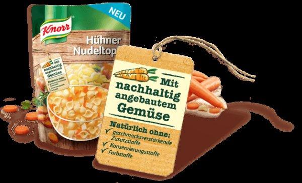 Knorr Aromapack Eintöpfe gratis testen [15.01 - 31.03.2015]