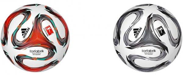 """Adidas™ - Fußball """"Torfabrik Top Training 2014/2015"""" (Größe 5, 2 Farbvarianten) ab €13,40 [@MeinPaket.de]"""