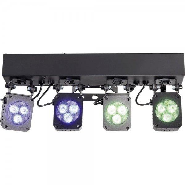 LED-Lichtanlage mit 4 Spots