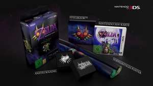 The Legend of Zelda: Majora´s Mask 3D Limited Edition für 47,99€ @amazon.fr