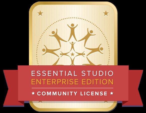 Syncfusion Essential Studio Enterprise Edition - Kostenlos