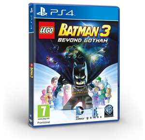 Sony PS4 - LEGO Batman 3: Beyond Gotham für €29,78 [@Amazon.co.uk]