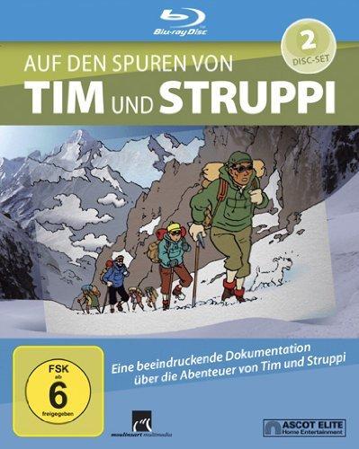 [Amazon Prime] Nicht nur für Fans: Auf den Spuren von Tim und Struppi (Dokumentation) 2 Blu-ray-Discs + Booklet für 17,97€!