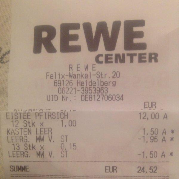 [REWE] Pfanner 2 Liter Eistee, alle Sorten 1,00 €