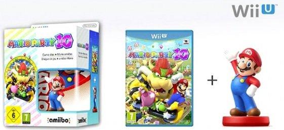 [Amazon] Mario Party 10 + Amiibo Bundle WiiU