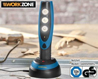 LOKAL - ALDI Süd St. Leon-Rot - WORKZONE LED-Arbeitslampe reduziert 12,99 EURO
