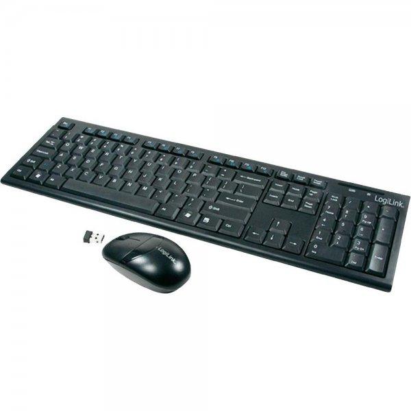 LogiLink ID0104 Office Funk-Set (Tastatur + Maus)