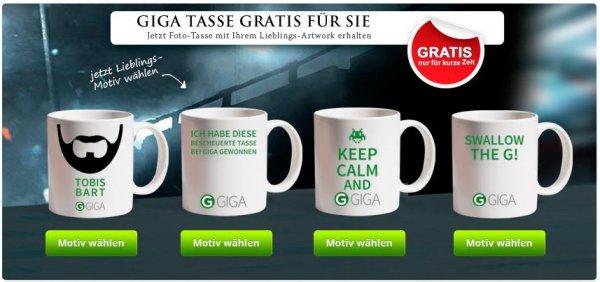 Giga Tasse für 4,99€ Versandkosten