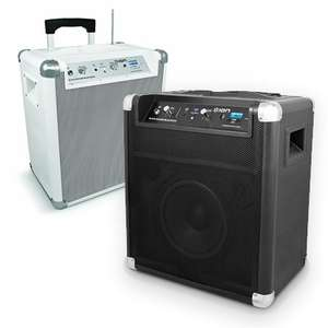 Ion iPA56 Blockrocker All-In-One Audiosystem Schwarz oder Weiss