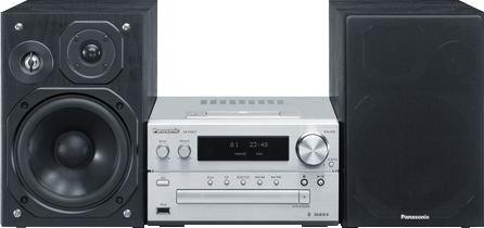 Panasonic SC-PMX7 - Kompakt HiFi-Anlage - silber/schwarz - 157,69 Euro - amazon.es