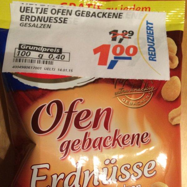 Real Offline - Ueltje Ofen Gebackene Erdnüsse