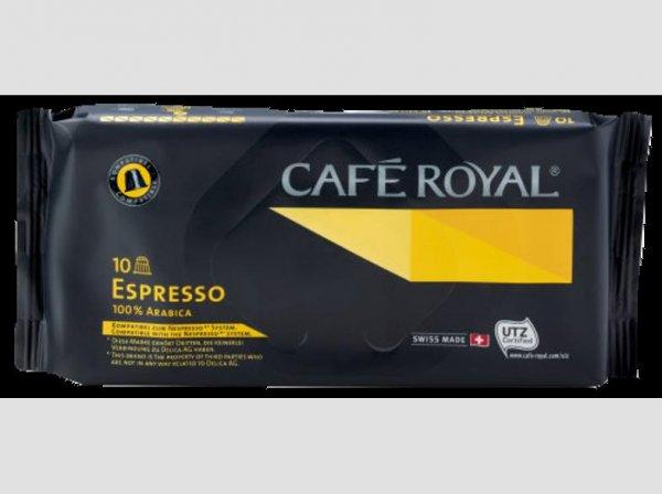 10 Café Royal Kaffeekapseln (komp. mit Nespresso) in 3 Sorten für 0,99€ bei Netto ohne Hund (evtl. lokal?)