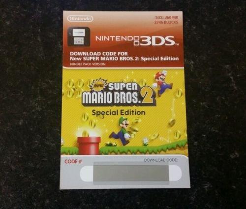 @Meinpaket: New Super Mario Bros. 2 Special Edition Download Code für 3DS 24,90 €