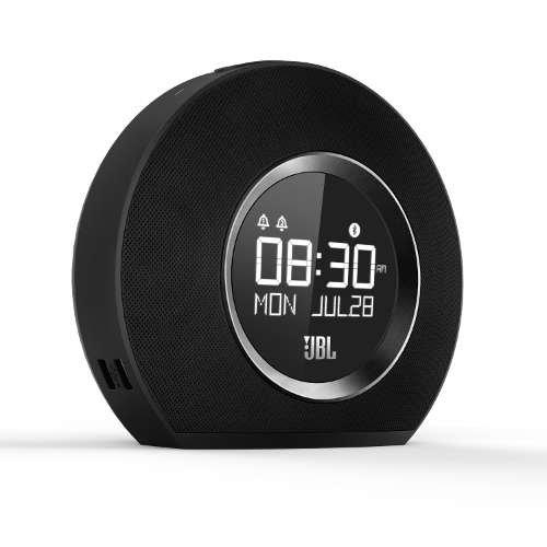JBL Bluetooth-Lautsprecher mit Uhr und Weckfunktion HORIZON schwarz