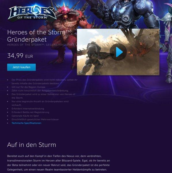 Heroes of the Storm - Beta Zugang *Begrenzt* Bnet