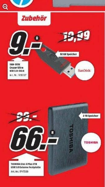 MediaMarkt Stuttgart SanDisk Cruzer Ultra 32GB. 9€