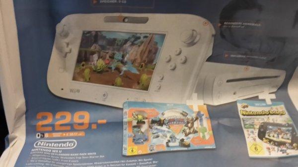 (Lokal Hanau)  Wii U 8 GB + Skylander Trap Team + Nintendo Land bei Saturn