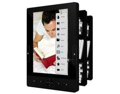 ODYS Scala E-Book-Reader/Media-Player (17cm (7 Zoll) LED Backlight-Farbdisplay, 4GB HDD, SD Card Slot, G-Sensor) für 89,95 Versandkostenfrei