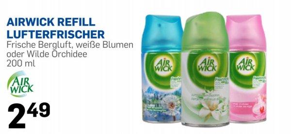 Airwick Refill Lufterfrischer 200ml für 2,49€ bei Action. normalpreis 4,49€