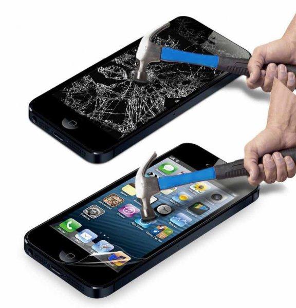 Günstige Panzerfolie / Schutzfolie aus Deutschland für iPhone 5 / iPhone 6 / iPhone 6 Plus @miti24 (ebay)