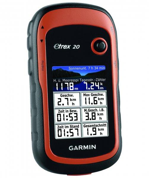[Engelhorn] Garmin eTrex 20 (Outdoor GPS , Farbe Braun) mit Newsletter Gutschein = 88,90€ , ohne Gutschein 98,90   (Nächster Preis:139,90€)