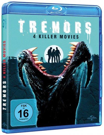 [media-dealer.de] Tremors 1-4 / 4 Killer Movies  (Blu-ray) für 14,99€
