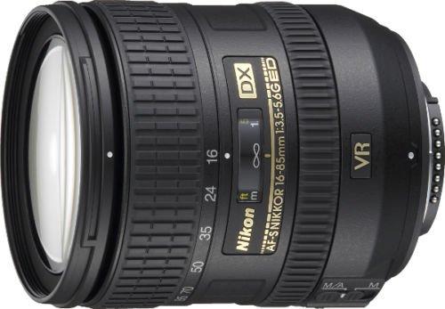 [ebay] Demoware Nikon Nikkor AF-S 16-85/3.5-5.6 G ED DX VR 2 Jahre Garantie 90€ Cashback