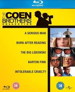 [Amazon UK] The Coen Brothers Collection (Blu-ray) für 13,19 EUR (inkl. VSK)
