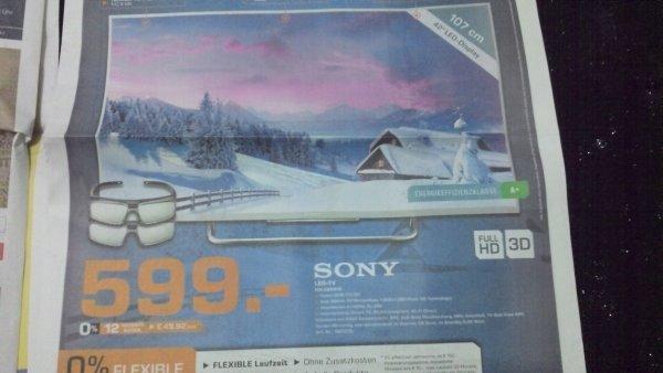 lokal saturn hanau Sony led tv KDL42W815 Idealo Preis 699 (Media&saturn)