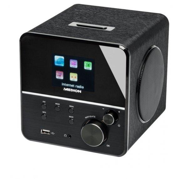 "Medion Life P85040 Internet-Radio, 2,8""T Farbdisplay, DLNA, 2 x 5 W RMS, WLAN, LAN für 79,99€ @ ebay(Medion)"