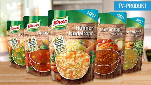 Knorr Eintöpfe  für  0,59 € bei V-Markt