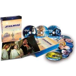 Star Wars: The Complete Saga Blu-ray bei Zavvi.de für 55,07 Euro